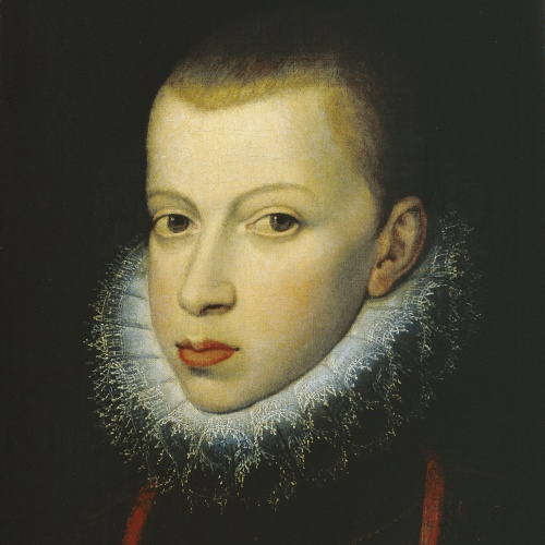 Juan Pantoja de la Cruz - Felip III, príncep - 1590-1592