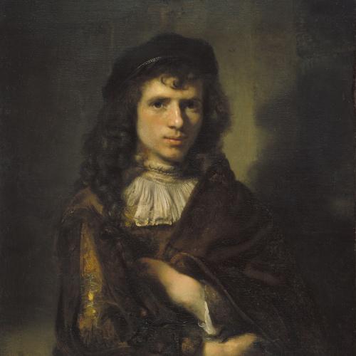 Willem Drost - Retrat de jove - Cap a 1654