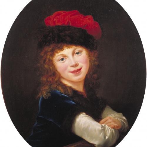 Élisabeth-Louise Vigée Le Brun - Retrat de nena - 1788-1790