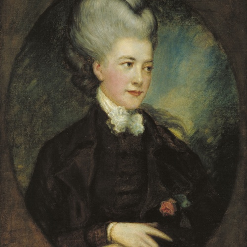 Thomas Gainsborough - Lady Georgiana Poyntz, comtessa Spencer [?] - Segle XVIII