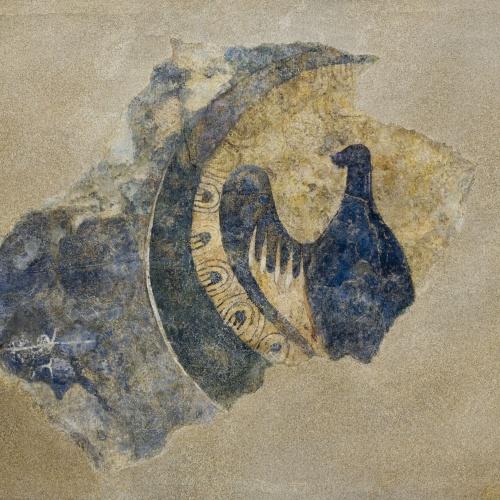 Anònim - Àliga dins d'un cercle d'Àger - Finals del segle XI – inicis del segle XII