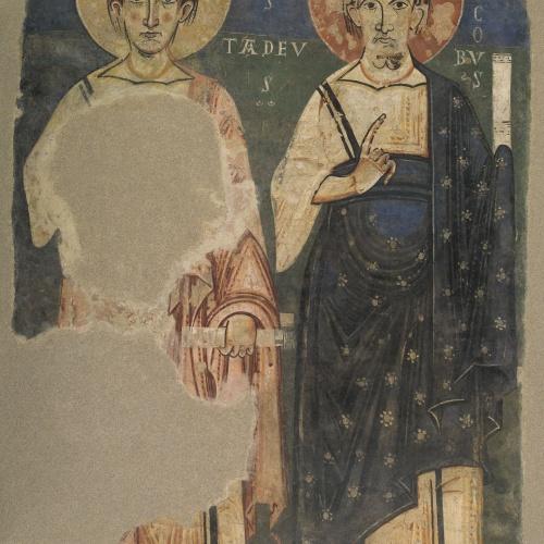 Mestre de Pedret - Apòstols d'Àger: Tadeu i Jaume - Finals del segle XI – inicis del segle XII