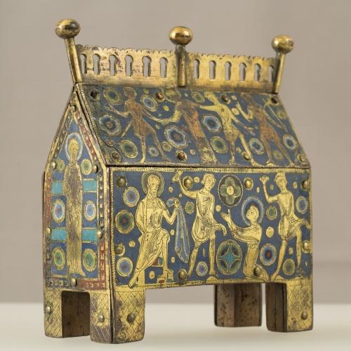 Anònim - Arqueta: Sant Esteve - Llemotges, cap a 1210-1220