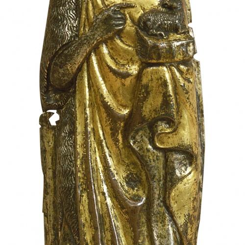 Anònim. Corona d'Aragó - Sant Joan Baptista - Finals del segle XIV – primera meitat del segle XV