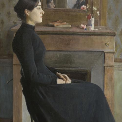 Santiago Rusiñol - Figura femenina - París, 1894