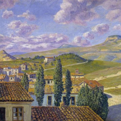 Darío de Regoyos - Sant Feliu de Torelló - 1912