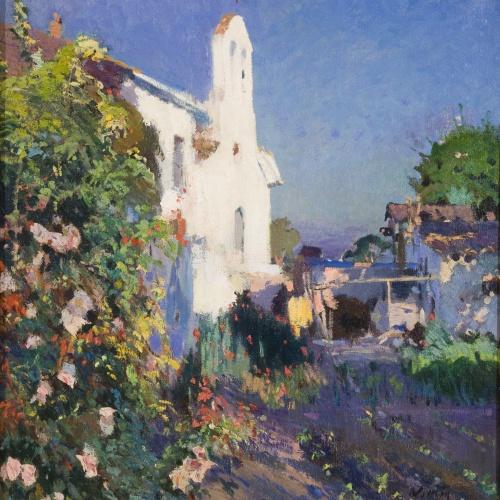 Joaquim Mir - Sant Joan Chapel (Vilanova i la Geltrú) - Circa 1922-1928