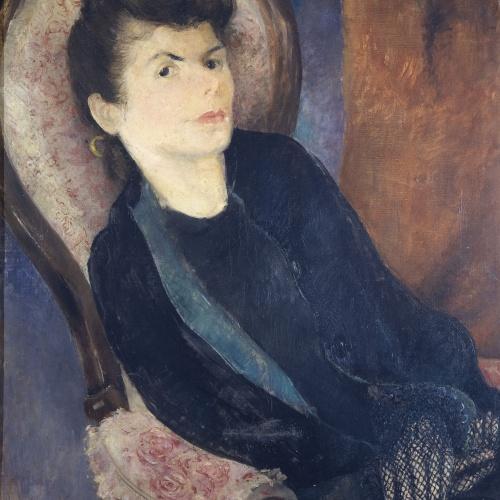 Olga Sacharoff - Madame Chevrillon - Cap a 1940