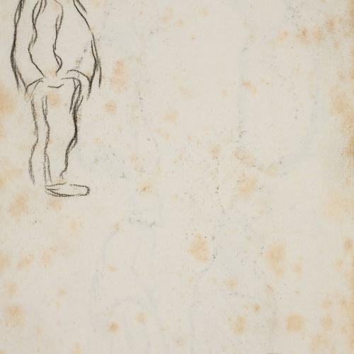 Isidre Nonell - Male figure - Circa 1894