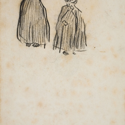 Isidre Nonell - Figure sketch - 1896