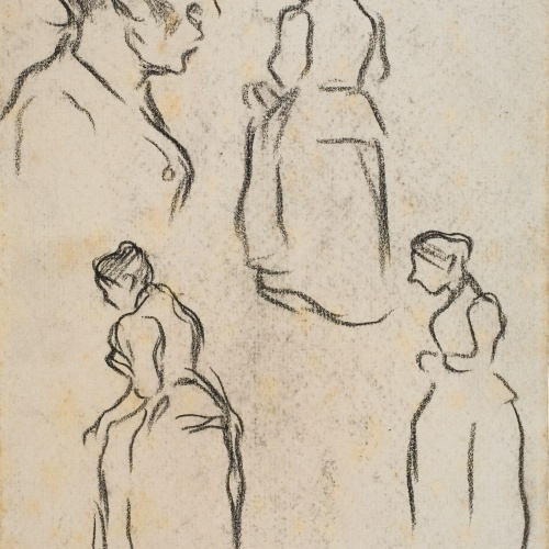 Isidre Nonell - Figure sketches - Circa 1894