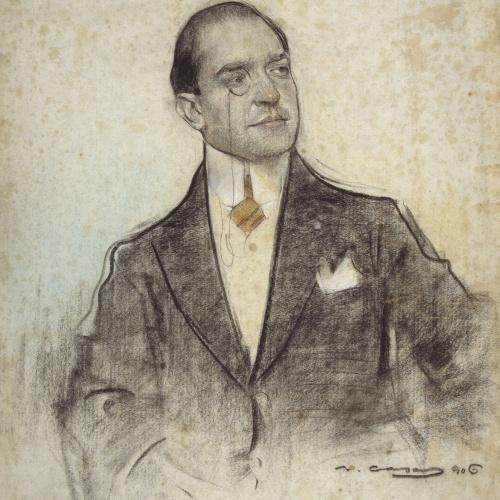 Ramon Casas - Retrato de Andreu Perelló - 1906