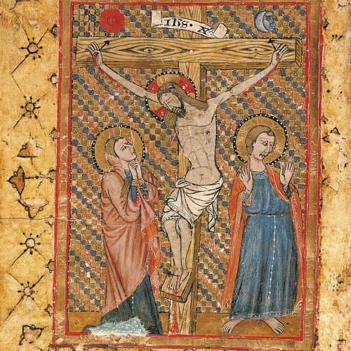 Anònim - Crucifixió - Segon quart del segle XIV