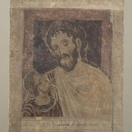 Mestre de la sala capitular de Sixena - De Fares a Naason de la genealogia de Crist segons Mateu, de la sala capitular de Sixena - Entre 1196-1200 [2]