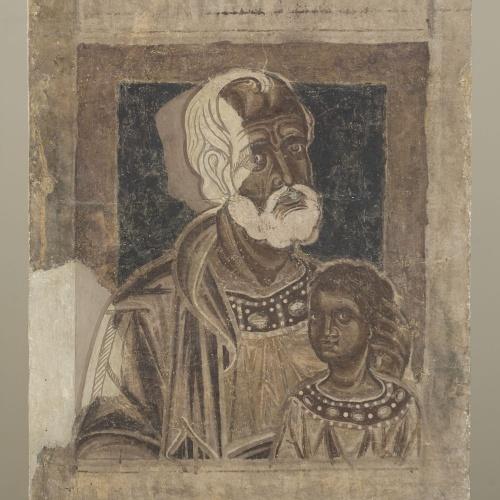 Mestre de la sala capitular de Sixena - De Fares a Naason de la genealogia de Crist segons Mateu, de la sala capitular de Sixena - Entre 1196-1200 [3]