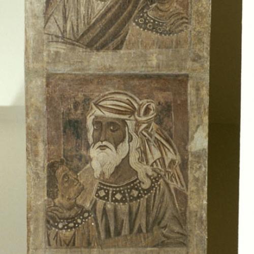 Mestre de la sala capitular de Sixena - De Salmon a Roboam de la genealogia de Crist segons Mateu, de la sala capitular de Sixena - Entre 1196-1200