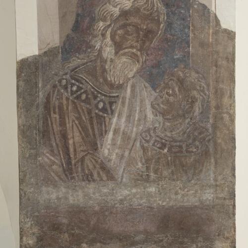 Mestre de la sala capitular de Sixena - De Salmon a Roboam de la genealogia de Crist segons Mateu, de la sala capitular de Sixena - Entre 1196-1200 [1]
