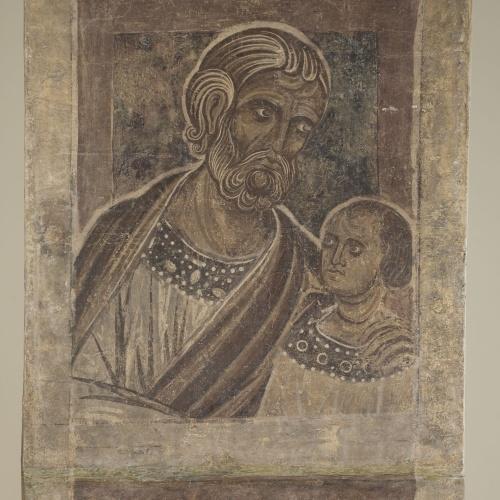 Mestre de la sala capitular de Sixena - De Salmon a Roboam de la genealogia de Crist segons Mateu, de la sala capitular de Sixena - Entre 1196-1200 [2]