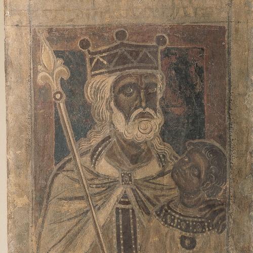 Mestre de la sala capitular de Sixena - De Salmon a Roboam de la genealogia de Crist segons Mateu, de la sala capitular de Sixena - Entre 1196-1200 [6]