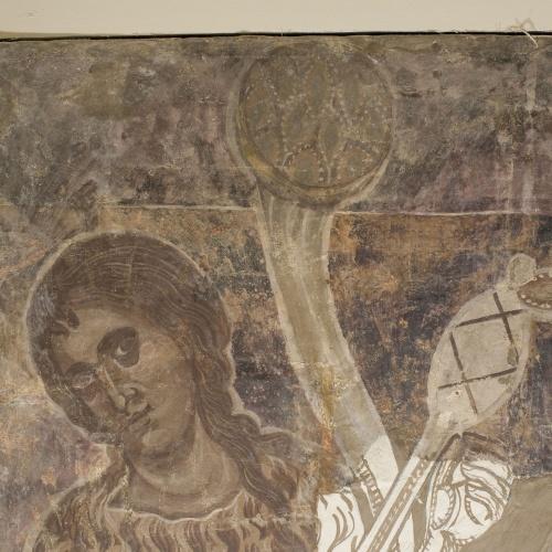 Mestre de la sala capitular de Sixena - Treball d'Adam i Eva, de la sala capitular de Sixena - Entre 1196-1208 [1]