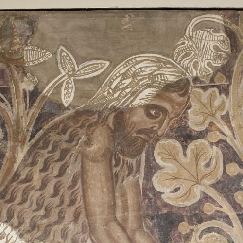 Mestre de la sala capitular de Sixena - Treball d'Adam i Eva, de la sala capitular de Sixena - Entre 1196-1208 [2]