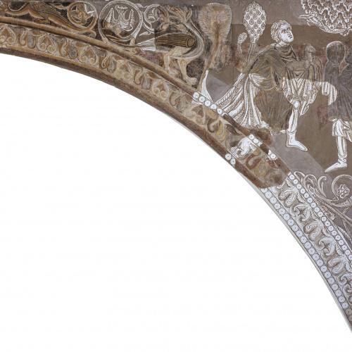 Mestre de la sala capitular de Sixena - Ofrenes de Caïm i Abel, de la sala capitular de Sixena - Entre 1196-1208