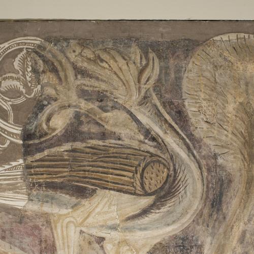 Mestre de la sala capitular de Sixena - Ofrenes de Caïm i Abel, de la sala capitular de Sixena - Entre 1196-1208 [1]