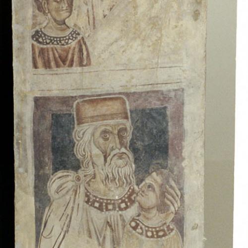 Mestre de la sala capitular de Sixena - D'Amon a Zorobabel de la genealogia de Crist segons Mateu, de la sala capitular de Sixena - Entre 1196-1208