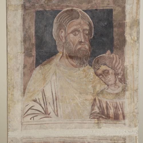 Mestre de la sala capitular de Sixena - D'Abihud a Eleazar de la genealogia de Crist segons Mateu, de la sala capitular de Sixena - Entre 1196-1208 [2]