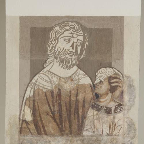 Mestre de la sala capitular de Sixena - D'Abihud a Eleazar de la genealogia de Crist segons Mateu, de la sala capitular de Sixena - Entre 1196-1208 [4]