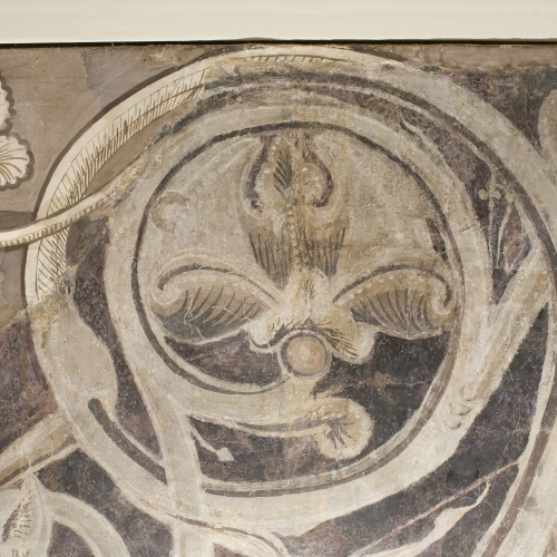 Mestre de la sala capitular de Sixena - Caïm mata Abel, de la sala capitular de Sixena - Entre 1196-1208 [1]