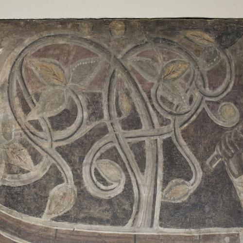 Mestre de la sala capitular de Sixena - Noè construeix l'arca, de la sala capitular de Sixena - Entre 1196-1208 [2]