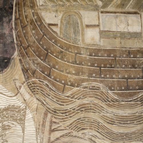 Mestre de la sala capitular de Sixena - Retorn del colom després del Diluvi, de la sala capitular de Sixena - Entre 1196-1208 [2]