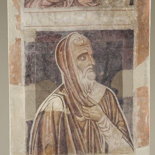 Mestre de la sala capitular de Sixena - De Jannai a Naüm de la genealogia de Crist segons Lluc, de la sala capitular de Sixena - Entre 1196-1208 [5]