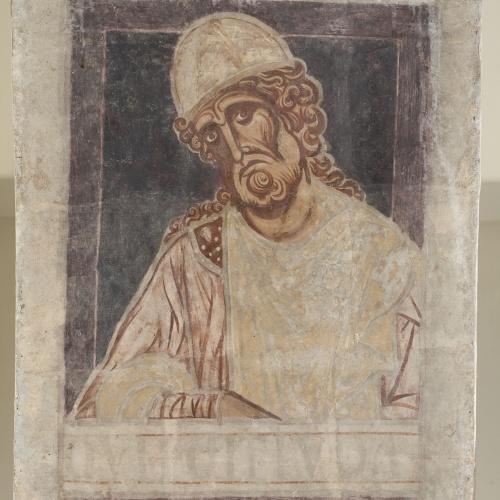 Mestre de la sala capitular de Sixena - De Nangai a Resà de la genealogia de Crist segons Lluc, de la sala capitular de Sixena - Entre 1196-1208 [4]