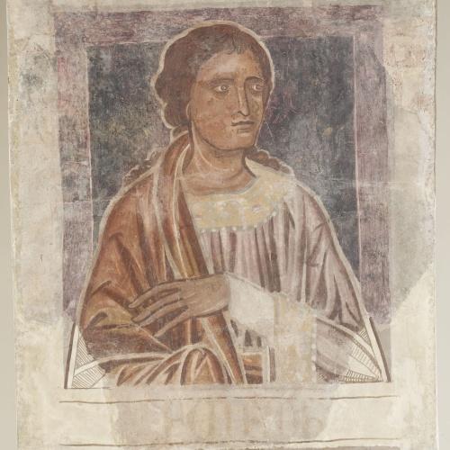 Mestre de la sala capitular de Sixena - De Nangai a Resà de la genealogia de Crist segons Lluc, de la sala capitular de Sixena - Entre 1196-1208 [5]