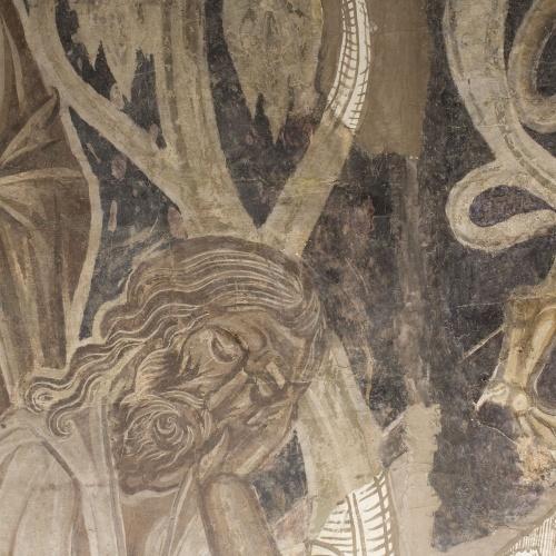 Mestre de la sala capitular de Sixena - Embriaguesa de Noè, de la sala capitular de Sixena - Entre 1196-1208 [1]