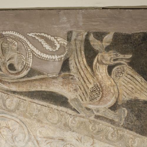 Mestre de la sala capitular de Sixena - Sacrifici d'Isaac, de la sala capitular de Sixena - Entre 1196-1208 [1]