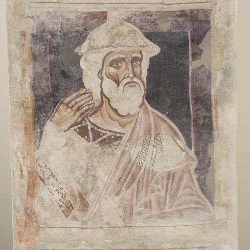Mestre de la sala capitular de Sixena - D'Er a Simeó de la genealogia de Crist segons Lluc, de la sala capitular de Sixena - Entre 1196-1208 [2]