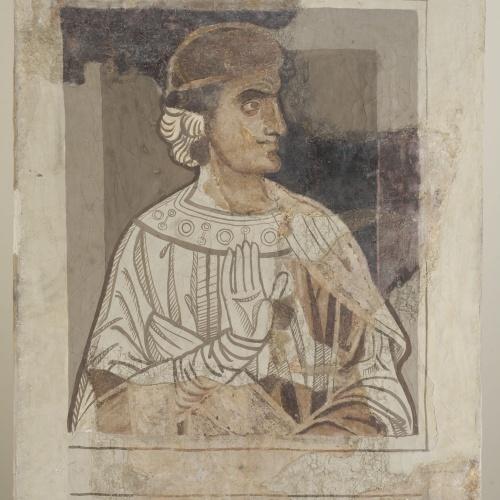Mestre de la sala capitular de Sixena - D'Eliaquim a Jessè de la genealogia de Crist segons Lluc, de la sala capitular de Sixena - Entre 1196-1208 [1]