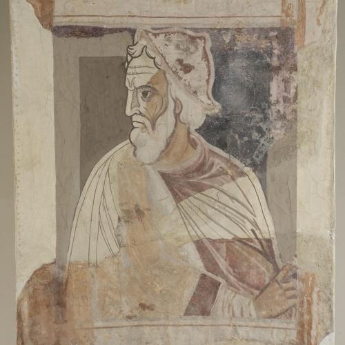 Mestre de la sala capitular de Sixena - D'Eliaquim a Jessè de la genealogia de Crist segons Lluc, de la sala capitular de Sixena - Entre 1196-1208 [4]