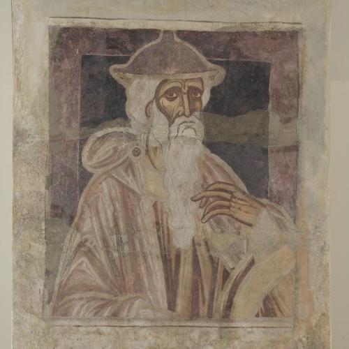 Mestre de la sala capitular de Sixena - D'Abraham a Noè de la genealogia de Crist segons Lluc, de la sala capitular de Sixena - Entre 1196-1208 [1]
