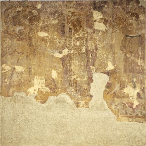 Mestre de la sala capitular de Sixena - Flagel·lació, de la sala capitular de Sixena - Entre 1196-1208