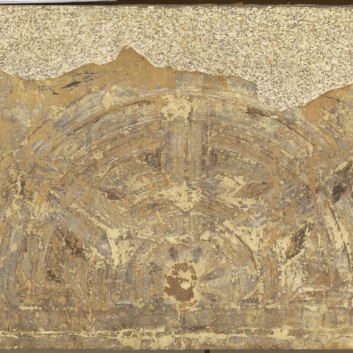 Mestre de la sala capitular de Sixena - Fris amb àngels i laberint, de la sala capitular de Sixena - Entre 1196-1208
