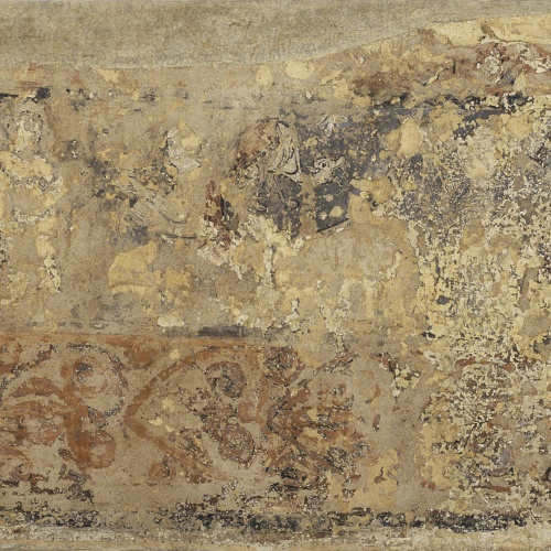 Anònim. Aragó - Pintures profanes de Sixena: Escenes cortesanes i de batalla - Cap a 1200
