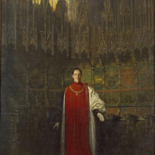 Ramon Casas - Portrait of King Alfonso XIII - Circa 1908
