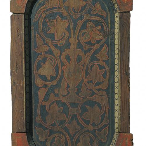 Anònim. Aragó - Taula d'enteixinat amb motius vegetals - Finals del segle XIII