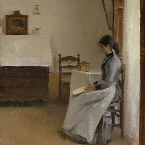 Ramon Casas - Entre dos capítulos - Hacia 1890