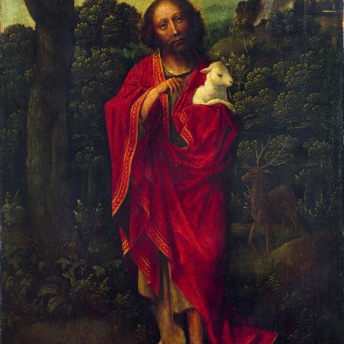 Anònim - Sant Joan Baptista - Primera meitat del segle XVI