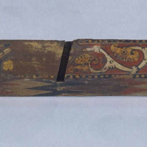 Anònim. Catalunya - Cabiró amb motius geomètrics, vegetals, animals i heràldics - Finals del segle XIII